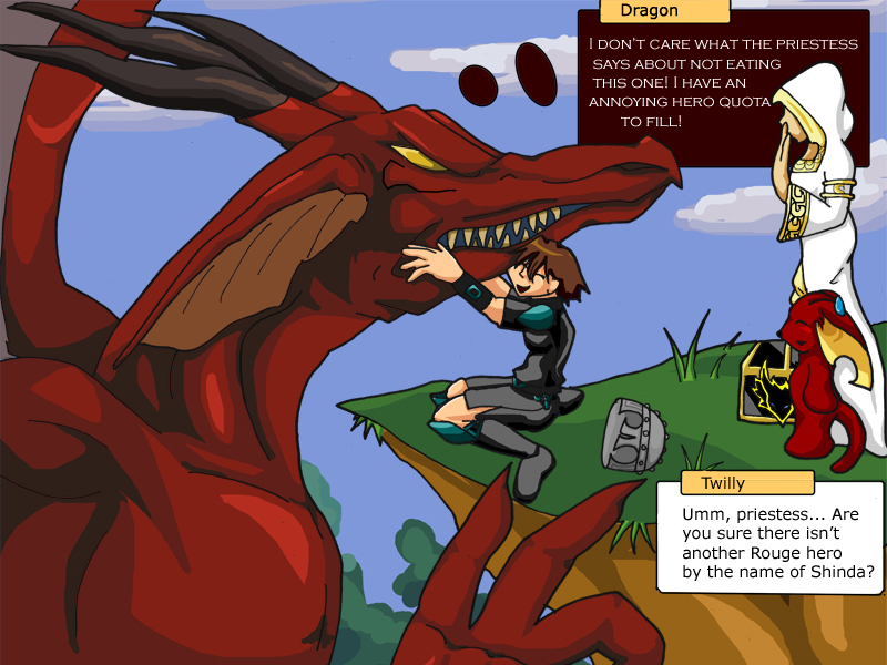 dragon fabel