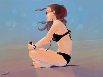 Summer girl by Vinkerlid