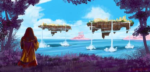 Archipelago - ADA concept art by Vinkerlid