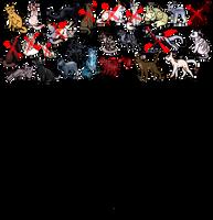 [16/? OPEN] 25 Point Feline batch (Update as I go) by Crywolf130