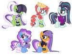 Tree Hugger X Countess Coloratura- shipping adopts