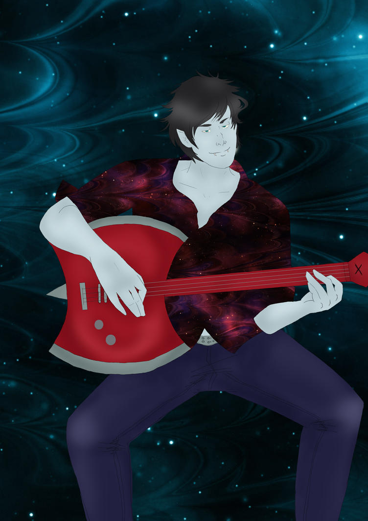 Marshall Lee by Mangaka9