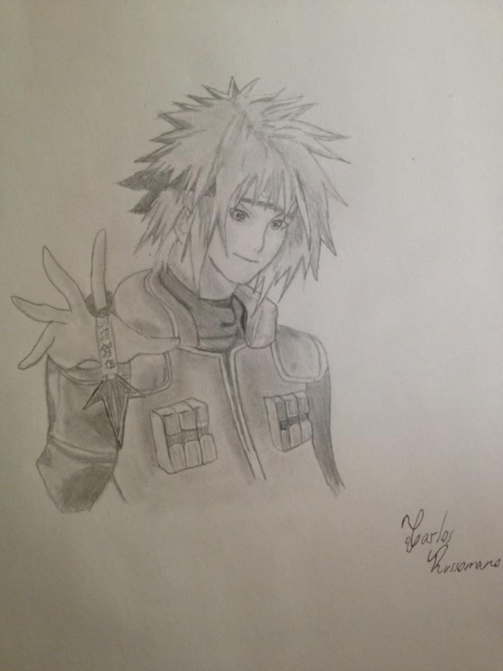 Yondaime (4th Hokage by Draw4fun2