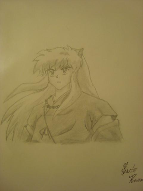 Inuyasha by Draw4fun2