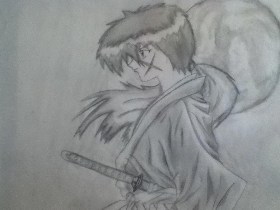 Himura Kenshin by Draw4fun2