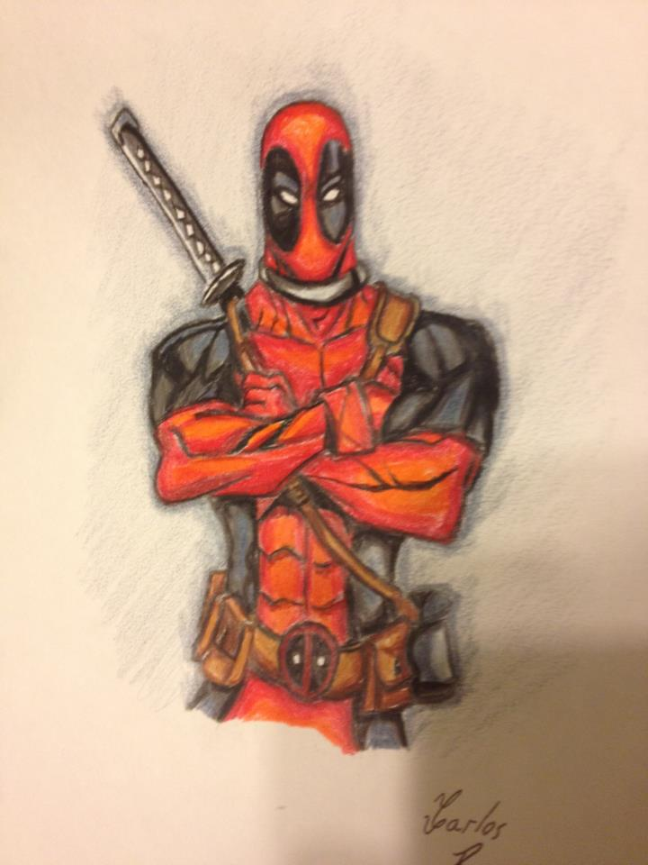 Deadpool by Draw4fun2