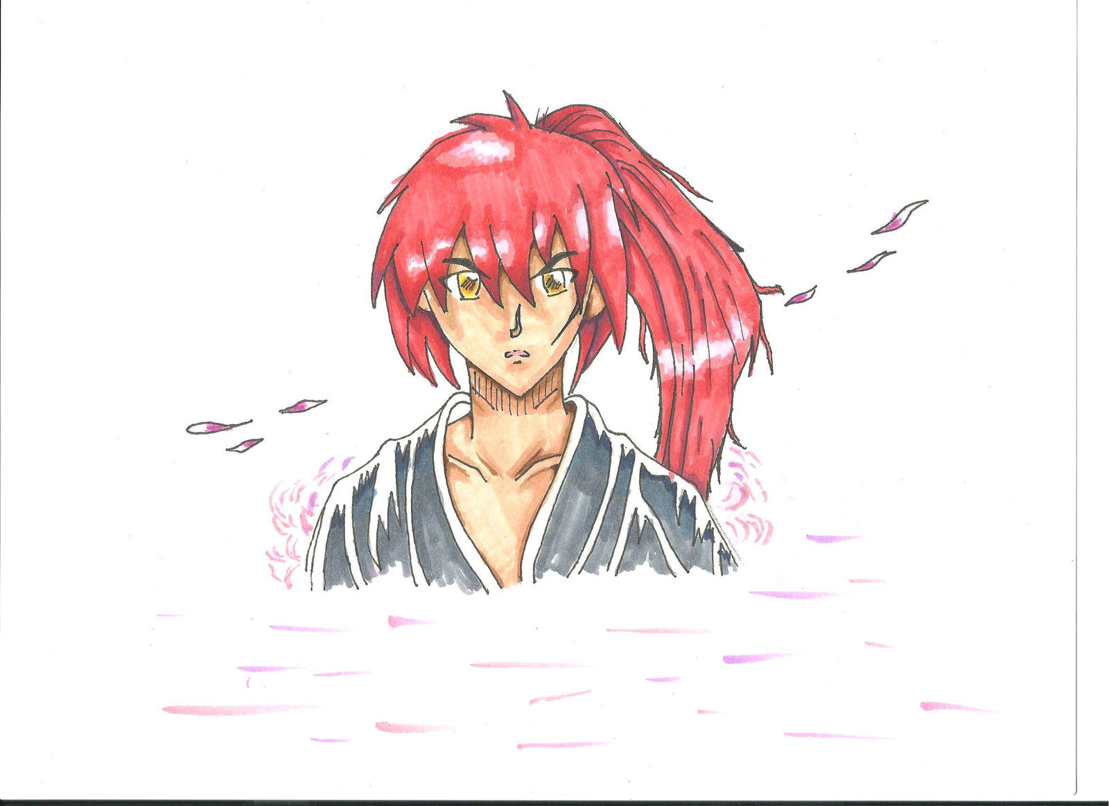 Himura Kenshin by Draw4fun2