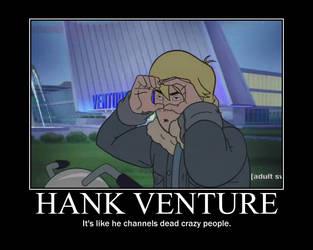 Hank Venture by Edplosion