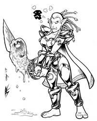 Troll Warrior Vijaya by Dustmeat