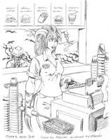 Sora's McJob by Dustmeat