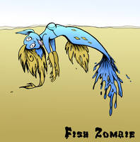 Fish Zombie by Dustmeat