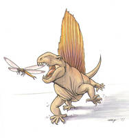 Dimetrodon by Dustmeat