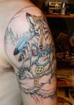 Dire Wolf tattoo
