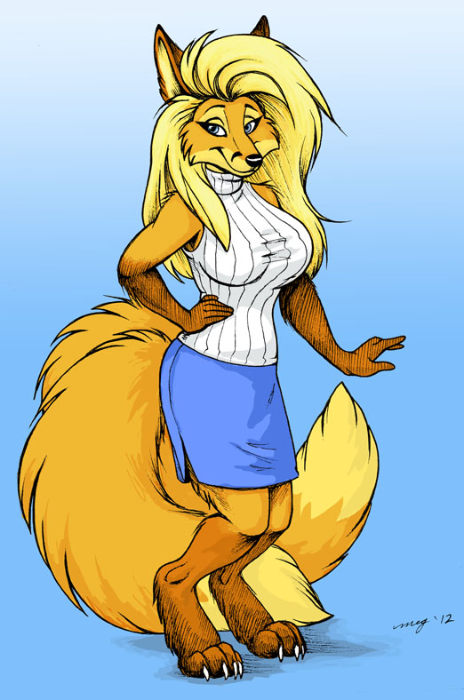Fox Babe by Dustmeat