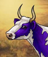 Cow Head by Dustmeat