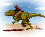 Dino Run in color