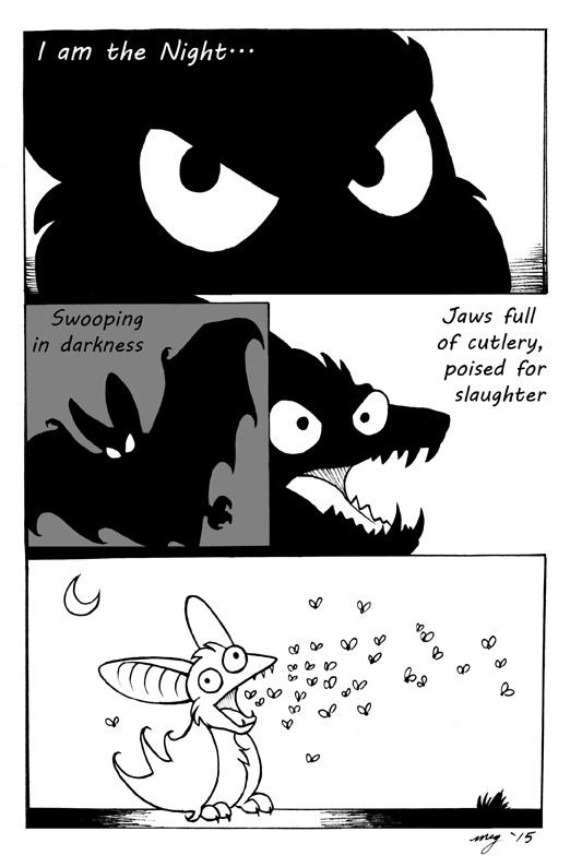 Emo Bat by Dustmeat