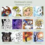 2015 Art Summary by Dustmeat
