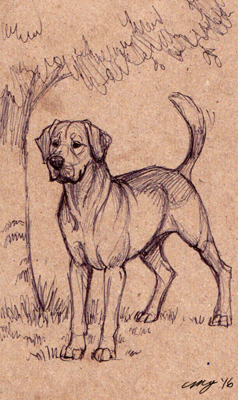 Hunting Dog by Dustmeat