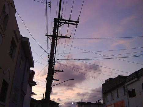 Poste Eletrico - Electric Pole