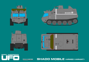 Gerry Andersons UFO SHADO Mobile - Armed Varia by ArthurTwosheds