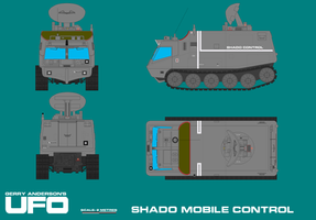 Gerry Andersons UFO SHADO Mobile - SHADO Contr by ArthurTwosheds