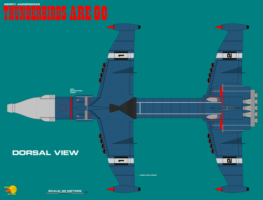 Gerry Andersons Thunderbirds Are Go Zero X Sheet 7 By