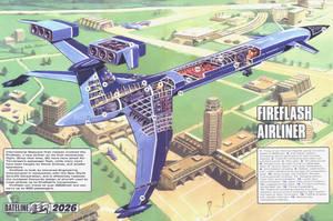 Thunderbirds Fireflash by ArthurTwosheds
