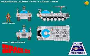 Gerry Andersons Space 1999 Moonbase Alpha Type 1 L by ArthurTwosheds