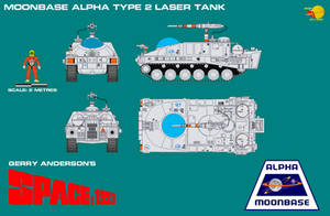 Gerry Andersons Space 1999 Moonbase Alpha Type 2 L by ArthurTwosheds