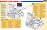 Thunderbirds Laser Cutter and Thunderizer