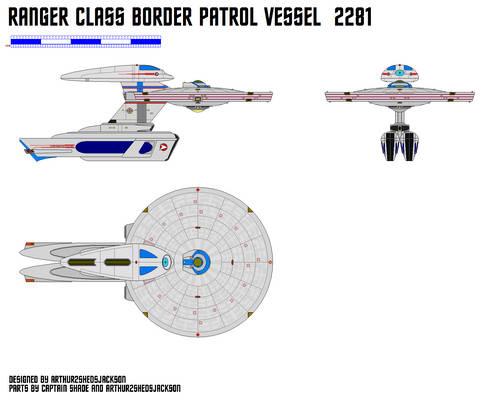 2281 Ranger Class Border Patrol Vessel