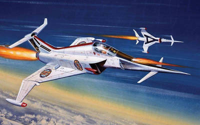 Airfix Angel Interceptor by Roy Cross