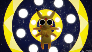 Acid Pikachu (fanart)