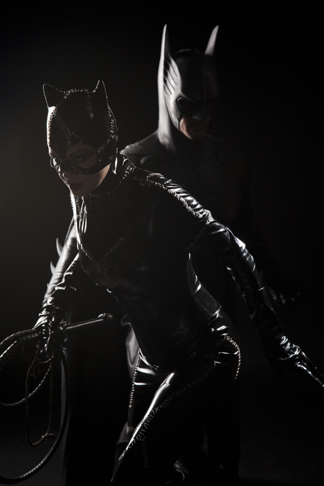 Batman and Catwoman by MrAdamJay