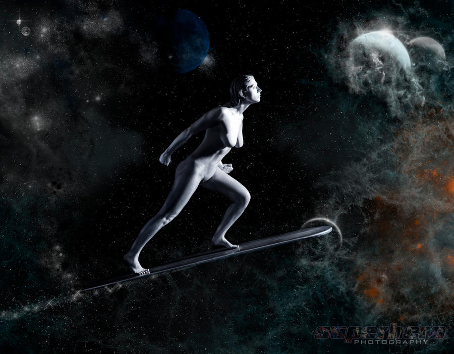 Silver Surfer by MrAdamJay