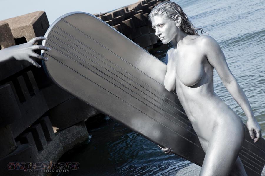 Silver Surfer by MrAdamJay