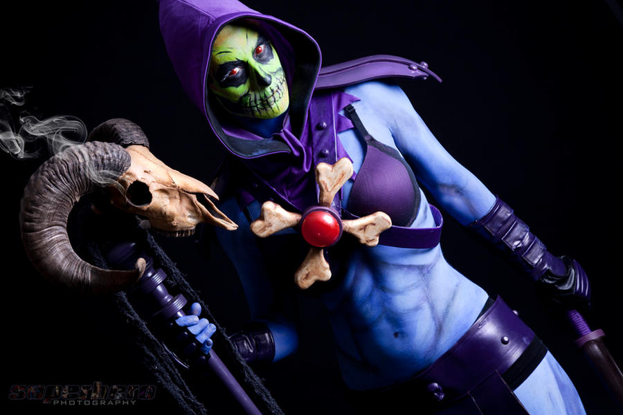 Lady Skeletor by MrAdamJay