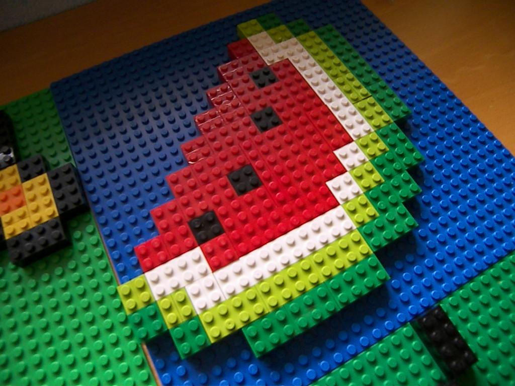 Minecraft Melon Pixel Art