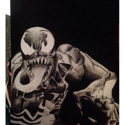 Venom Fan Art by The-Witchy-Artist