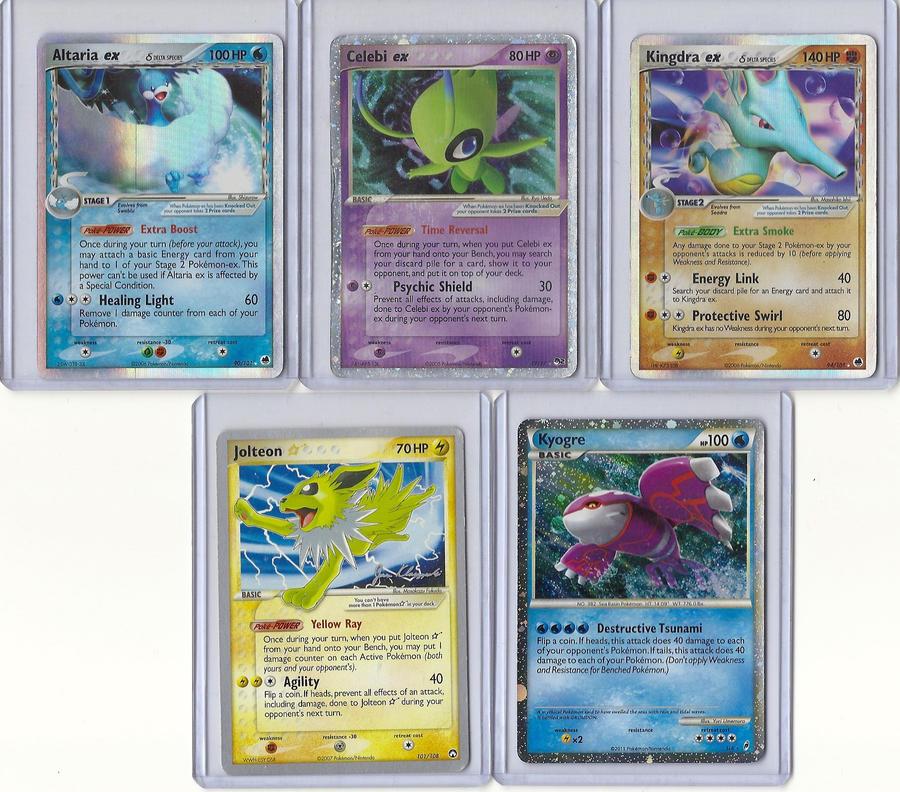 My Ex And Shiny Pokemon Cards 264600246