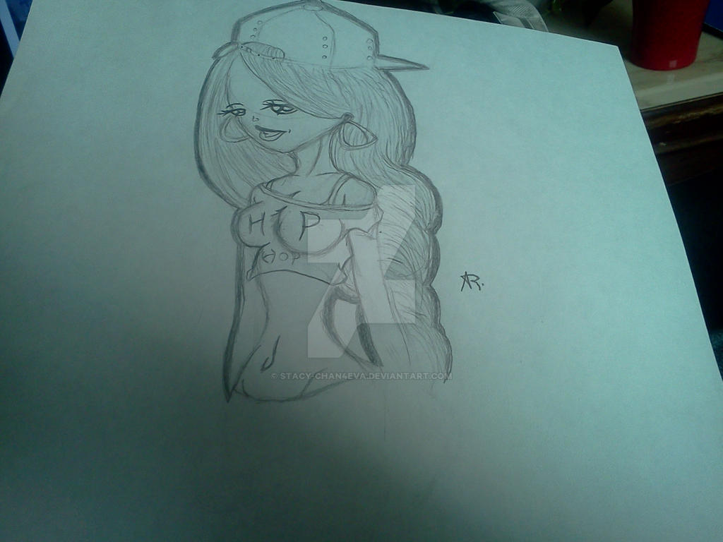 Pin Up Hip Hop Girl Drawing By Stacy Chan4eva On Deviantart