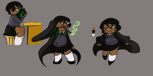 Real Life Stacy Doodles -Hogwarts by Stacy-chan4Eva