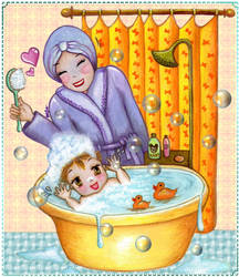 Bath Time ^^ by chester1010ir