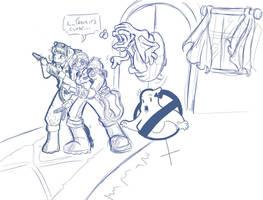 GhostSistas by SentientBeef