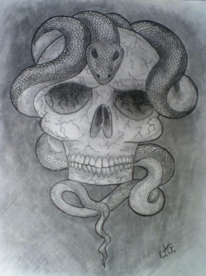 Slytherin fan art by janick01