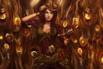 Steampunk Girl Smudge