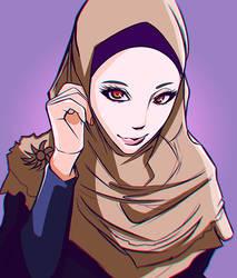Hijab by FarhanGFX