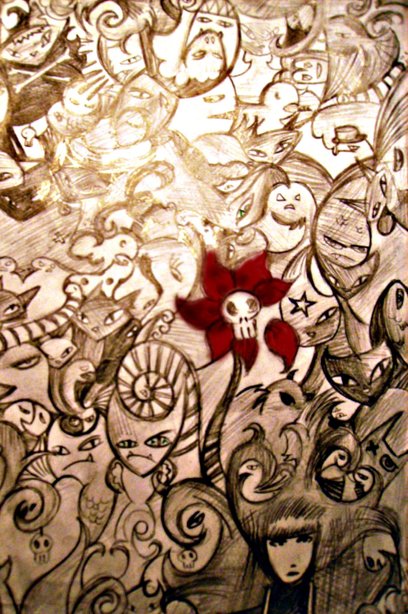 Emily Strange Mural by greencat5