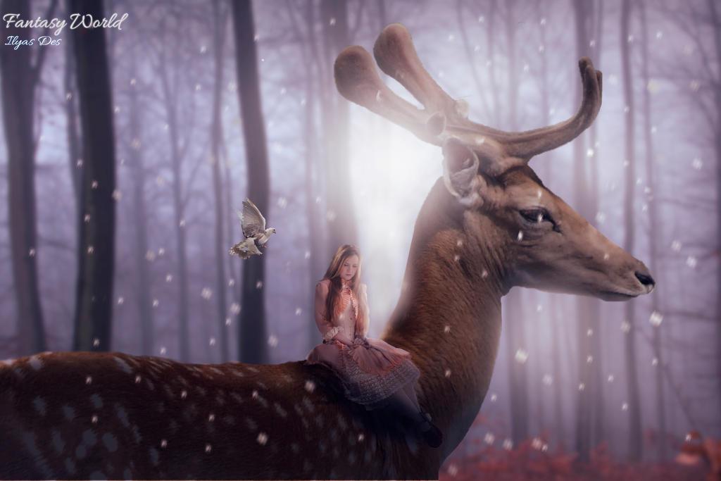 Fantasy world by IlouS